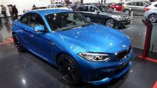 2016 bmw m2 coupe exterior and interior auto show brussels 2016 youtube