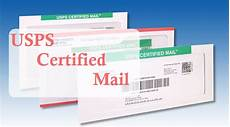 usps certified mail how to send cost return receipt