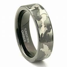 black tungsten carbide 7mm military camouflage wedding ring camo wedding rings camouflage