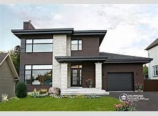 Contemporary / Modern House Plan no. 3713 V1 by Drummond