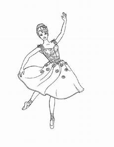 free printable ballet coloring pages for