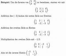 berechnen sie die inverse matrix der reellen matrix 1 2