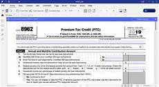 irs form 8962 instruction for how to fill it right