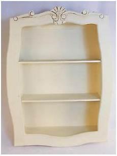 etagere shabby shabby chic wall shelf 80cm display unit style