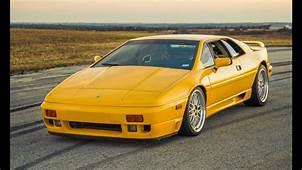 450 HP ATS Racing 1990 Lotus Esprit SE  One Take YouTube