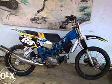 Modifikasi Motor Bebek Yamaha by Motor Bebek 2tak Yamaha Fizr Modif Trail Mesin