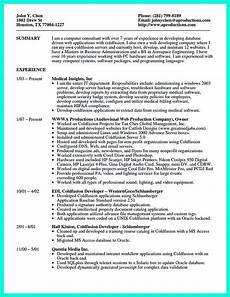 di resume sle template and format