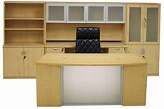 Maple Office Furniture by Maple Glass Front Conference Desk