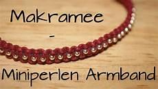 Makramee Miniperlen Armband Diy