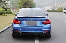 bmw f22 m tech carbon fiber rear diffuser exot style dcr