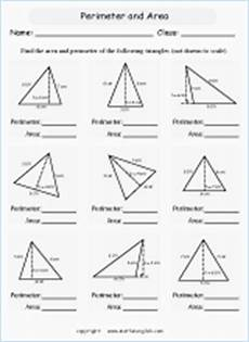 draw triangles given a certain area use the grid paper and formula 1 2 b h