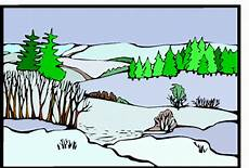 landschaft verschneit ausmalbild malvorlage landschaften