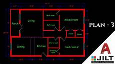 autocad house plan tutorial making a simple floor plan 3 in autocad 2018 simple