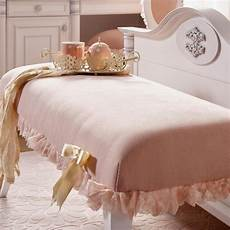 ottoman bench pink bedroom furniture with a touch of glam