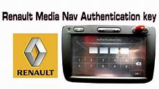Renault Medianav Authentication Key