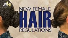 navy revises hair rules for women at boot c time