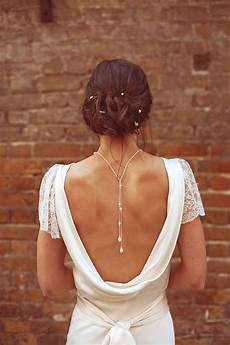 bijoux de dos mariage 29 back wedding necklaces the trend right now weddingomania