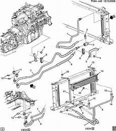 2003 chevrolet c5500 wiring system 2003 2009 topkick kodiak c4500 c5500 transmission cooler adapter 15865060 ebay
