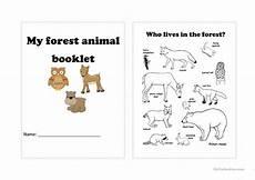 animal worksheets for high school 14306 forest animals worksheet free esl printable worksheets made by teachers