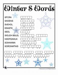 winter crossword worksheets 19981 winter word puzzles for winter word scamble classroom jr word puzzles for winter