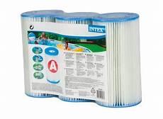 3 Cartouches De Filtration Pour Filtre Piscine Intex Type A