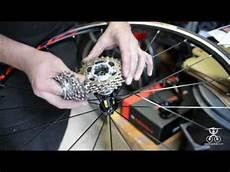 cassetta bici montaggio cassetta pignoni bici da corsa