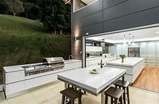outdoor küche design 1001 ideen f 252 r outdoor grillk 252 che mit modernem design