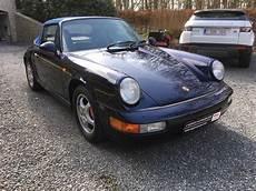 porsche 911 occasion pas cher porsche 911 964 cabriolet occasion wavre pas cher voiture