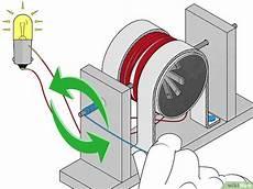 einen einfachen elektrischen generator herstellen wikihow