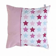 kissen pink kissen mixed stars pink 40x40 cm von little dutch kaufen