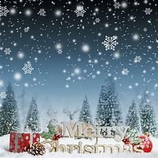 aliexpress com buy dark blue snow world merry christmas backdrops for children