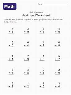 addition quiz worksheets 9015 simple addition worksheets you can print for at home practice math addition