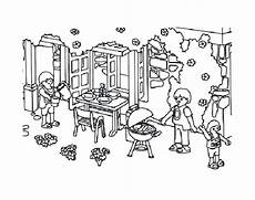 Ausmalbilder Playmobil Villa Playmobils For Playmobils Coloring Pages