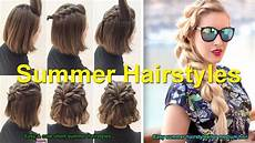 easy cute short summer hairstyles easy summer hairstyles for medium hair summer hairstyles