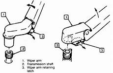 automotive service manuals 1995 buick roadmaster windshield wipe control how to remove 1996 mitsubishi pajero wiper arm repair guides windshield wipers washers
