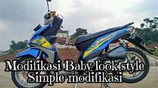 Modifikasi Motor Beat F1 by Modifikasi Baby Look Style Simple Beat F1