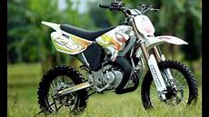 Satria Modif Trail by Modif Satria 2 T Jadi Motor Trail Gagah Banget