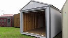 new 12x30 derksen garage at big w s portable buildings derksenlafayette com youtube