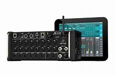 Behringer X Air Series Takes Stage Box Format Mixers