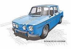 Renault 8 Gordini Renault 8 Illustration De Voiture Et