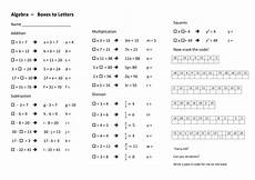algebra missing number worksheets 8516 equations from missing numbers to using letters by stericker teaching resources