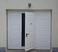Porte De Garage Pas Cher Avec Portillon Tout Pour Votre