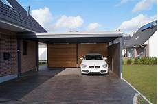 Beispiele Moderner Doppelcarport Carporthaus
