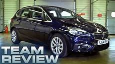 bmw 2 active tourer 218d luxury team review fifth gear