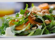 cote d azur fruit and greens salad with honey lemon dressing_image