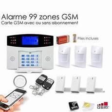 Alarme Maison Sans Fil Gsm 99 Zones Large 201 Quipements