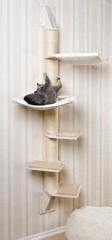 Solid Wall Cat Tree For Small Spaces Or Corners Stabiler
