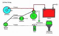 gm alternator wiring diagram 1996 7 best images of 1996 chevy silverado starter wiring diagram chevy alternator wiring diagram