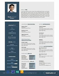 402 free resume templates word psd indesign apple