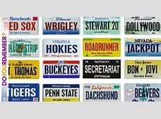 license plates for sale used